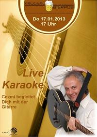 Live Karaoke mit Cezmi