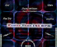 Faster than 145 BPM