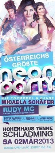 Österreichs größte Neonparty