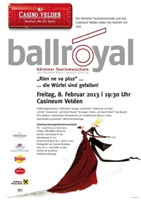 Ball Royal, Ball der Kärntner Tourismusschulen@Casino Velden