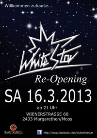 White Star Re-Opening@White Star
