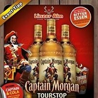 Captain Morgan Tourstop in der LINZER ALM