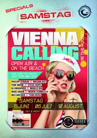 Vienna Calling On The Beach