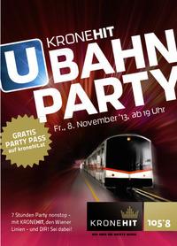 3. Kronehit U-Bahn Party