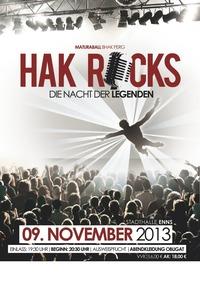 Maturaball BHAK Perg | HAK ROCKS - Die Nacht der Legenden