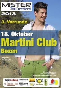 3. Vorrunde Mister Südtirol@Martini