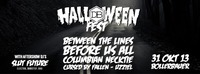 Halloween Show feat. Between The Lies + Before Us All + Columbian Necktie + Cursed By The Fallen