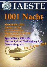 IAESTE Mensafest: 1001 Nacht