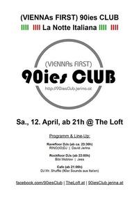 90ies Club: La Notte Italiana