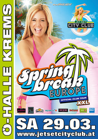 The official Spring Break Europe Club Tour 2014