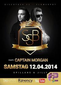 SuperSmashBrothaz meets Captain Morgan Party