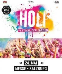 Holi Festival der Farben 2014 - Salzburg