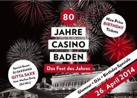 80 Jahre Casino Baden