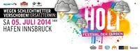 Holi Festival der Farben Innsbruck