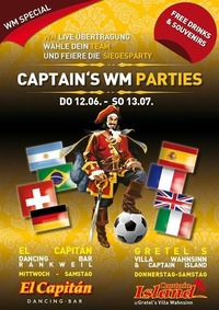 Captains WM Parties