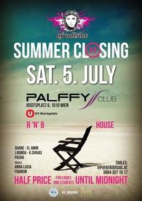 Afrodisiac Summer Closing