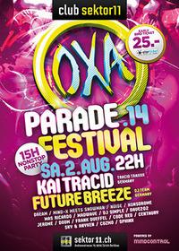 OXA Parade Festival mit Kai Tracid & Future Breeze@Sektor11