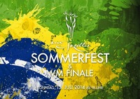 Sommerparty - WM Finale