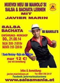 Salsa  Bachata lernen mit Javier Marin
