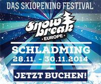Snow Break Europe 2014 - Das Skiopening Festival