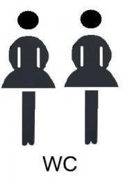 Gruppenavatar von Mädels müssen nunmal zu zweit aufs Klo