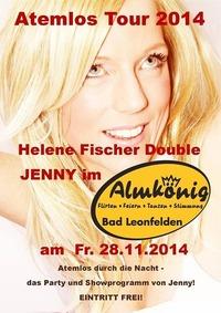 Atemlos Tour 2014 - Helene Fischer Double Jenny