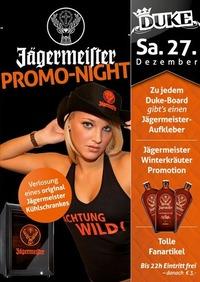 Jägermeister Promo