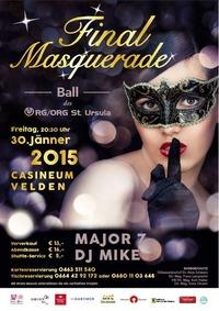Final Masquerade - Ball des RGORG St. Ursula