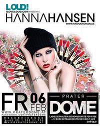 Iloveloud.com presents Hanna Hansen@Praterdome
