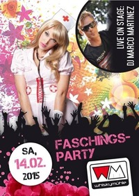 Faschingsparty mit Marco Martinez