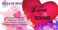 One Love One Sound mit Valentinstagspecial