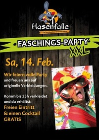 Faschings-Party XXL