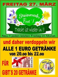 Steiermark Fest´l März