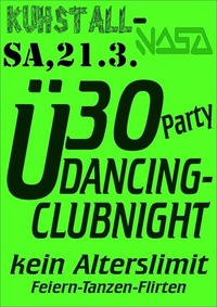 Ü30 Party Dancing - Clubnight
