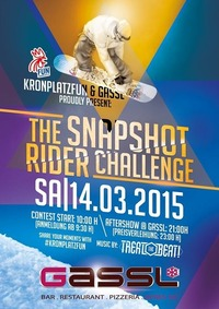 The Snapshot Riders Challenge AFTERSHOWPARTY