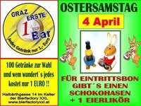 Ostersamstag Party@1-Euro-Bar