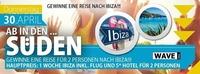 Ab in den Süden- Gewinne eine Reise nach Ibiza