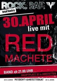 Red Machete live