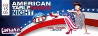 American Table Dance Night