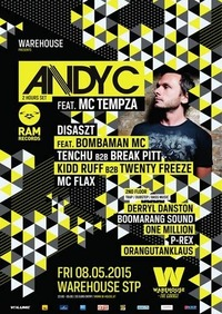 Warehouse presents Andy C Ram Records
