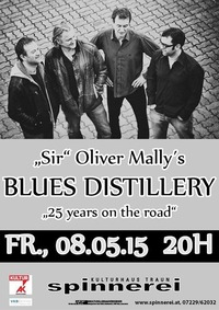 Sir Oliver Mallys Blues Distillery - 25 Years on the road