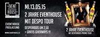 2 Jahre Event House mit Desperados Tour