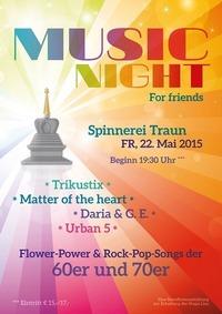 Music Night for Friends - Benefiz für die Stupa Linz