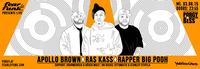 Fear le Funk presents Apollo Brown, Ras Kass & Rapper Big Pooh
