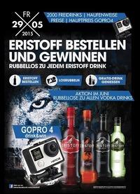 Eristoff Aktion Wochen - Gopro4 Gewinnen