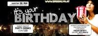 Its your Birthday - Geburtstagskinder Mai
