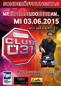 Hasenfalle Ü31 Party mit Udo Huber