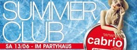Cabrio Summer Club 2015