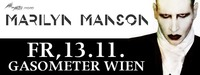 Marilyn Manson presented by Mind Over Matter