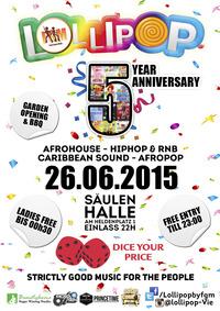 Lollipop 5 years anniversary